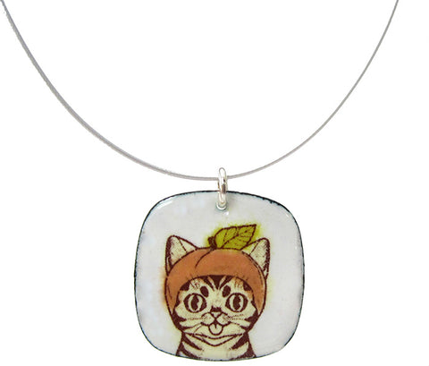 Enamel Necklace - YUMMY Fruit BUB - BUB CLUB 2