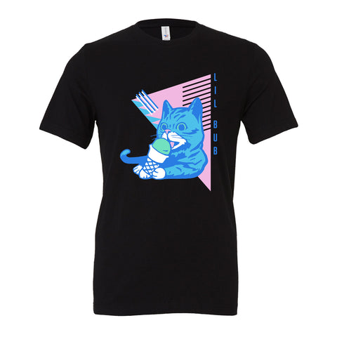 Unisex T-Shirt - Ice Cream BUB - Black