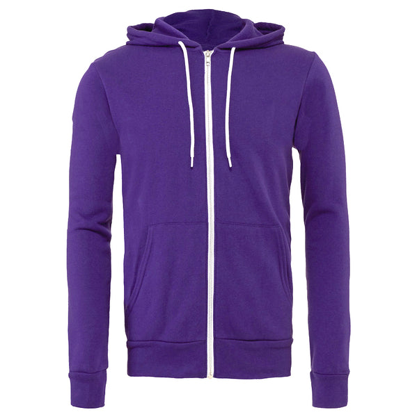 Zip Up Hoodie - Ice Cream BUB - Purple