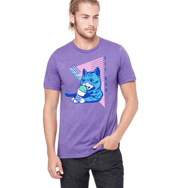 Unisex T-Shirt - Ice Cream BUB - Heather Purple