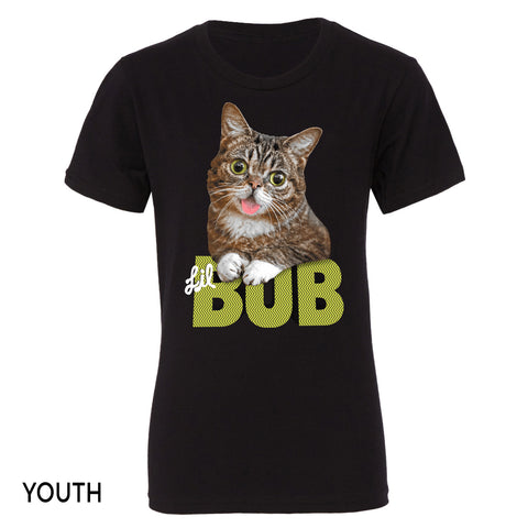 The Irresistible BUB Unisex Youth T-Shirt - Black