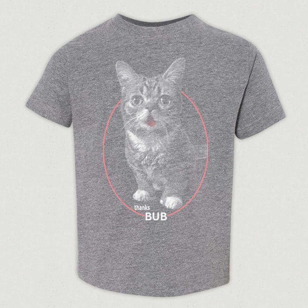 Toddler, Kid, and Youth T-Shirt - Classic BUB - Heather Grey