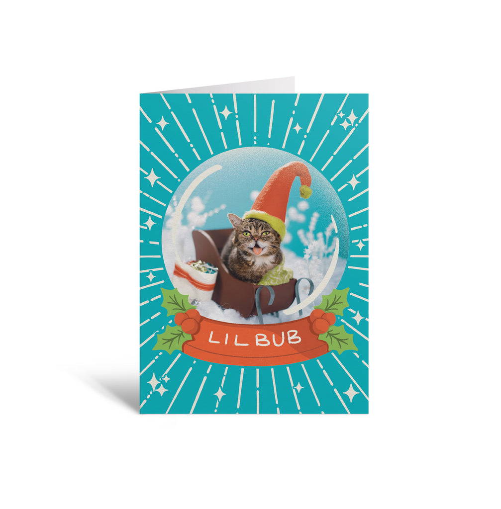 Holiday Christmas Card - BUB Snow Globe 2020
