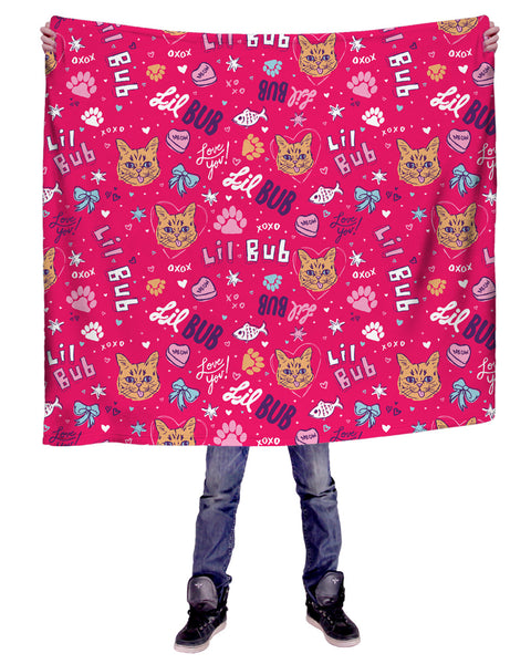 Limited Edition Heart BUB Blanket