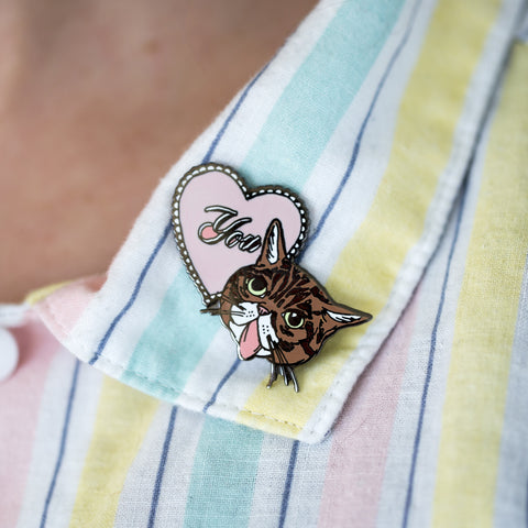 The LOVE Pin - Artists' Series I Enamel Pins