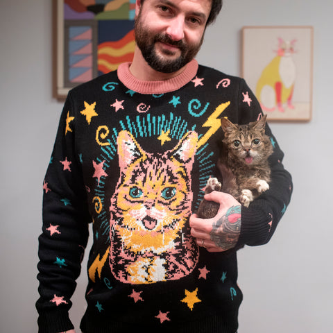 Knit Sweater - Black Magic BUB