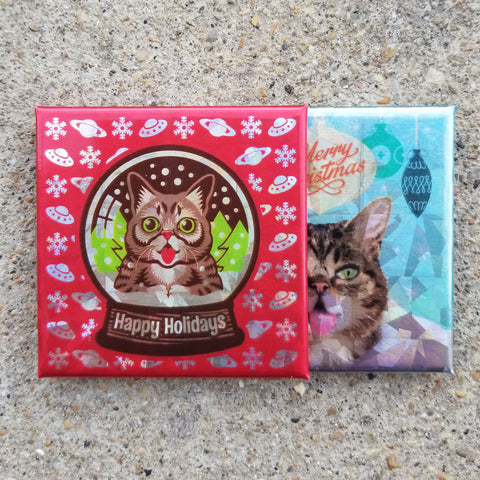 Magnets - Sparkling Holidays - Set of 2 - Limited Edition