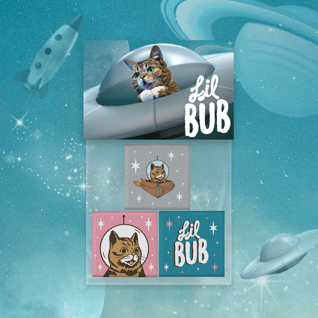 Magnets - Set of 3 - BUB CLUB 1