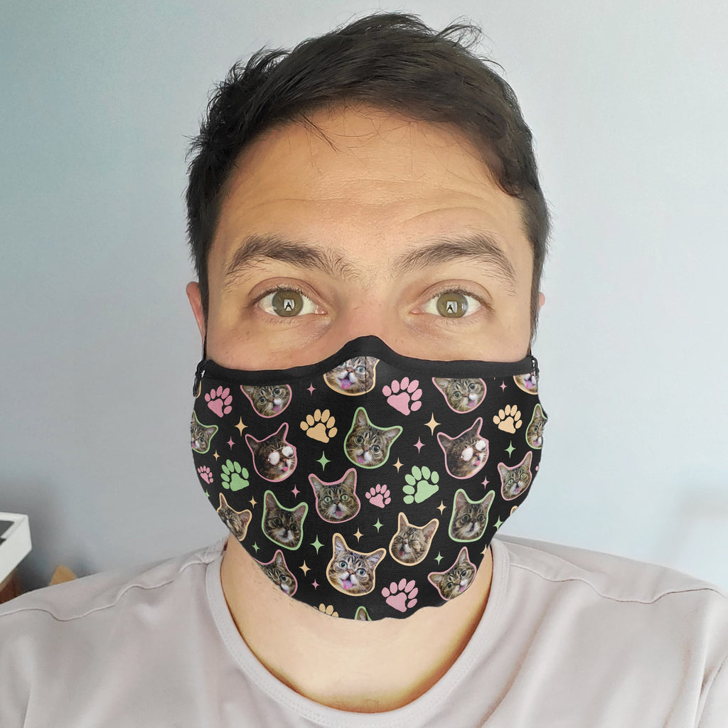 NEW! Face Mask - Everywhere BUB - Black
