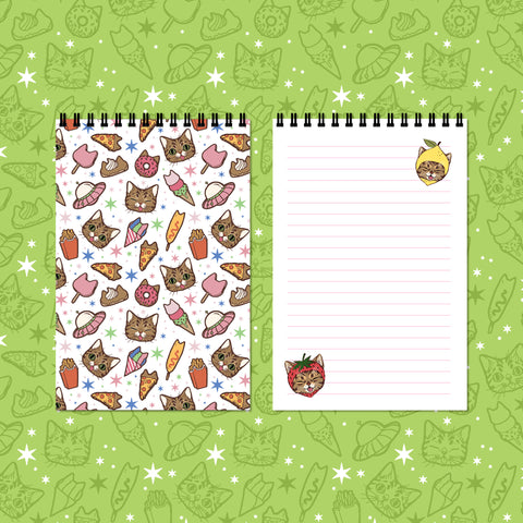 YUMMY BUB Spiral Bound Notepad - BUB CLUB 2