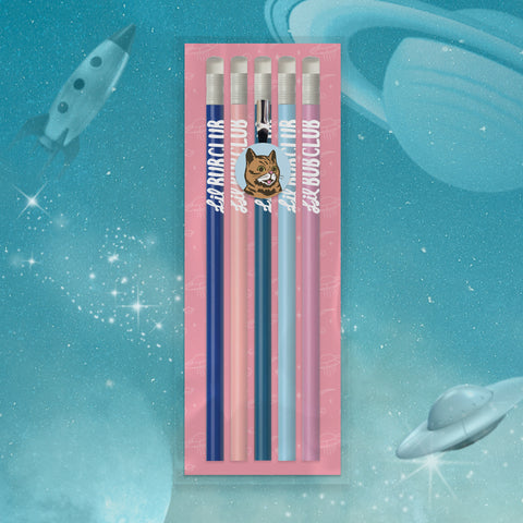 Pencil Pack - Set of 5 - BUB CLUB 1