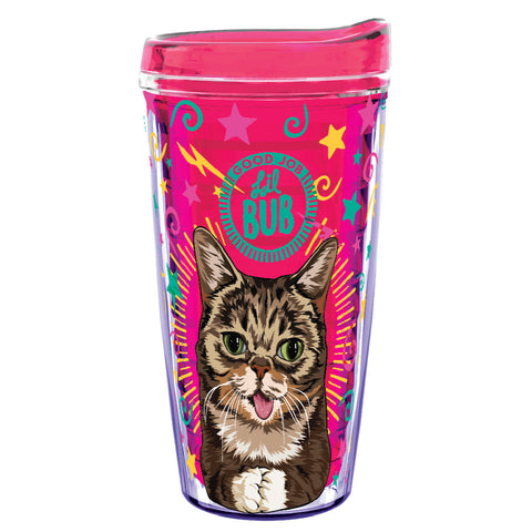 16 Oz Travel Tumbler - Magic BUB - Fuchsia Pink