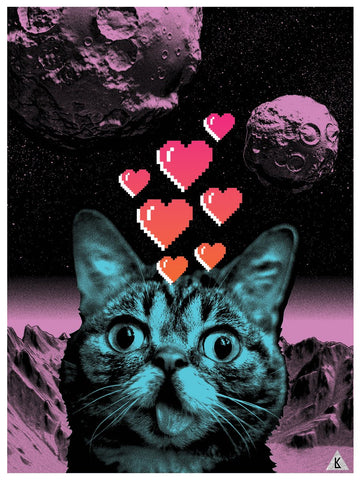 "Limited Edition Art Print - ""Planet BUB"" by Kristian Donaldson"