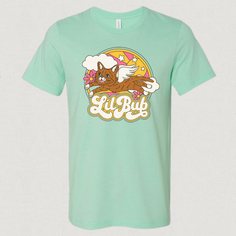 Unisex T-Shirt - Retro Angel - Mint