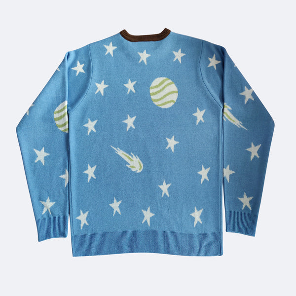 Knit Sweater - Pop Art Galaxy 2019