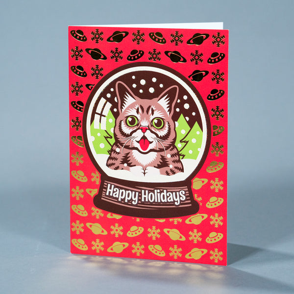 Holiday Card - Snow Globe