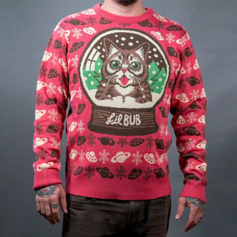 Knit Sweater - Snow Globe BUB