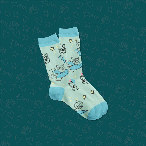 Crew Socks - Cartoon BUB