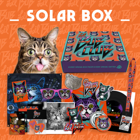 BUB CLUB Q6: The Rock & Roll SOLAR BOX