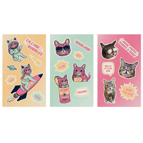 Sticker Sheets - Pop Art Set