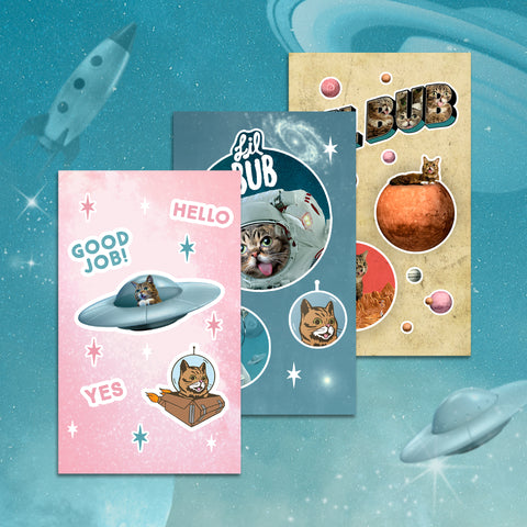 Sticker Sheets - SPACE BUB