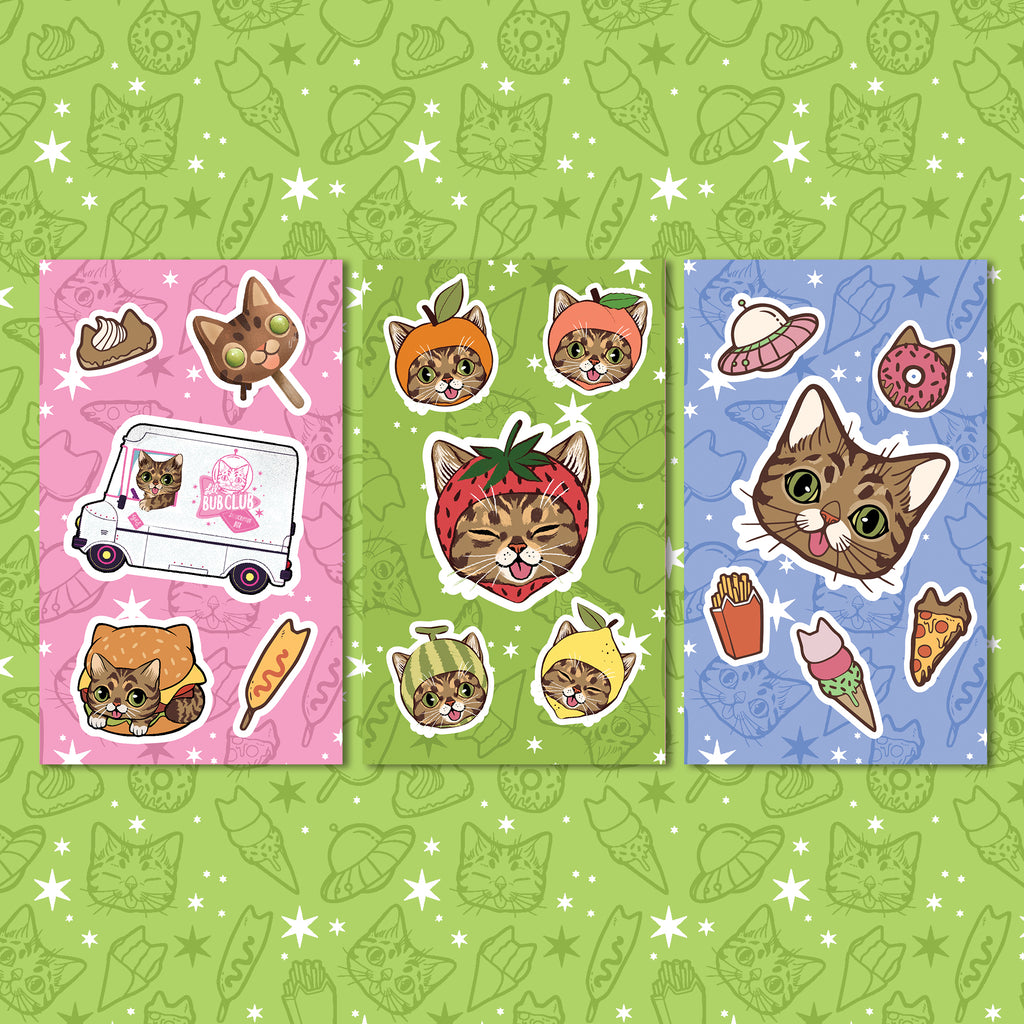 Sticker Sheets - BUB CLUB 2
