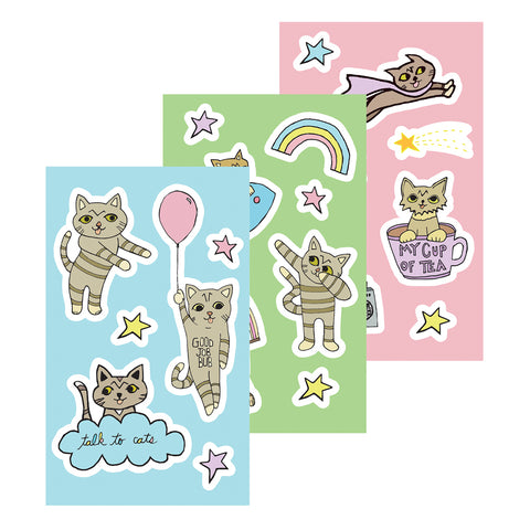 Sticker Sheets - Cartoon BUB Set
