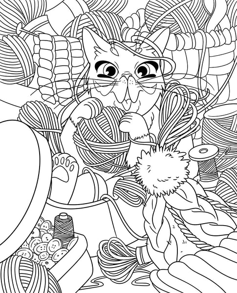 """The Life of Lil BUB"" Adult Coloring Book - Volume 1"
