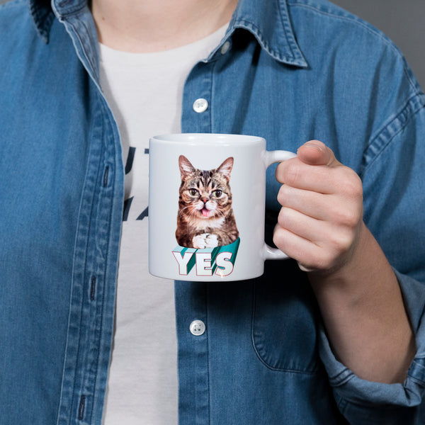 11 oz Coffee Mug - YES BUB
