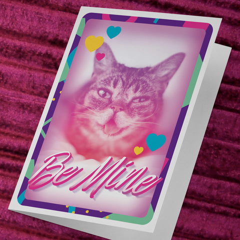 Be Mine BUB Card