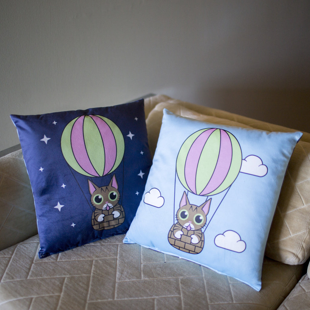 Lil BUB Double-Sided Throw Pillow - BUBLOON