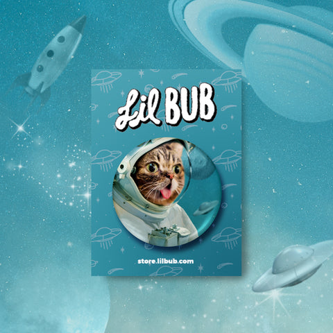 Button - SPACE BUB - BUB CLUB 1