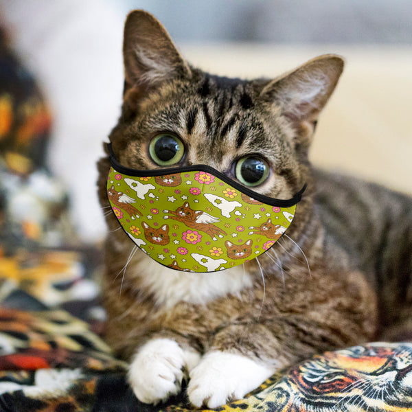 Lil BUB Retro Face Mask Gift Bundle (set of 3 unique face masks)