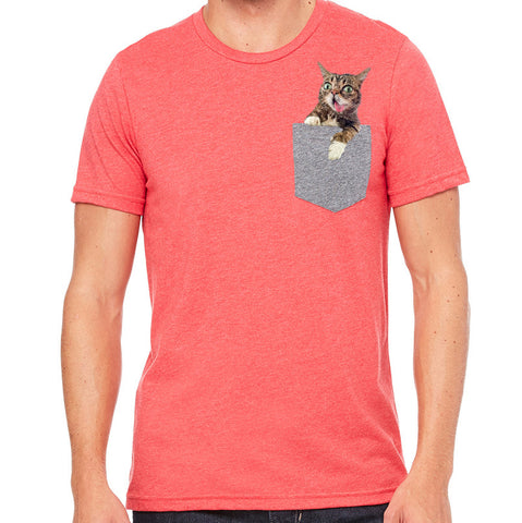 Exclusive CatCon Pocket BUB T-Shirts! - Red