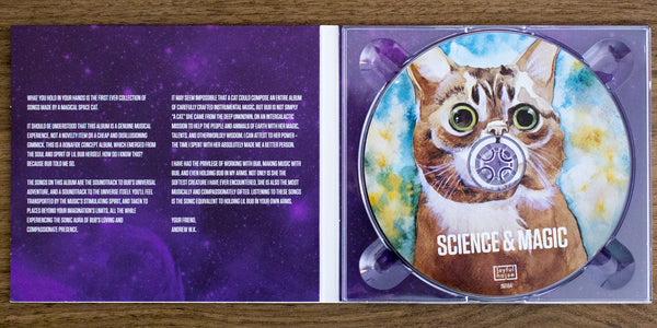 Lil BUB Science & Magic Album CD Digipack