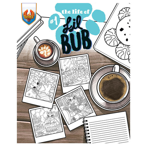 "Coloring Book - ""The Life of BUB"""
