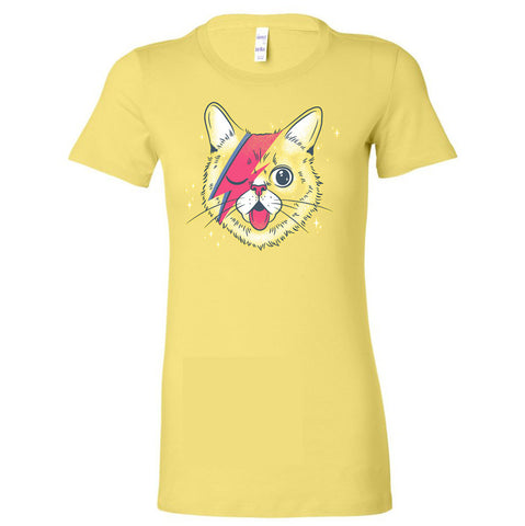 Exclusive CatCon BUBBY Stardust Women's T-Shirts - Yellow