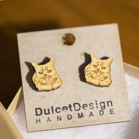 Lil BUB earrings