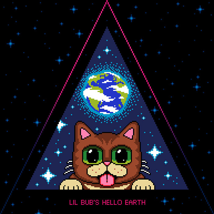 Lil BUB - HELLO EARTH LP - Nebula Splatter
