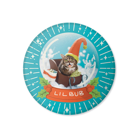 "Magnet - 2020 Limited Edition 3"" Lil BUB Snow Globe Magnet"