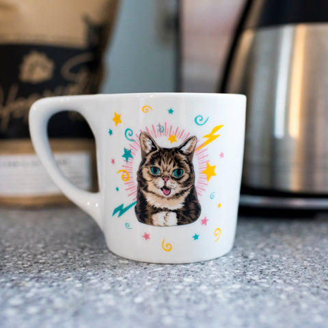 Fine-Porcelain Magic BUB Mug
