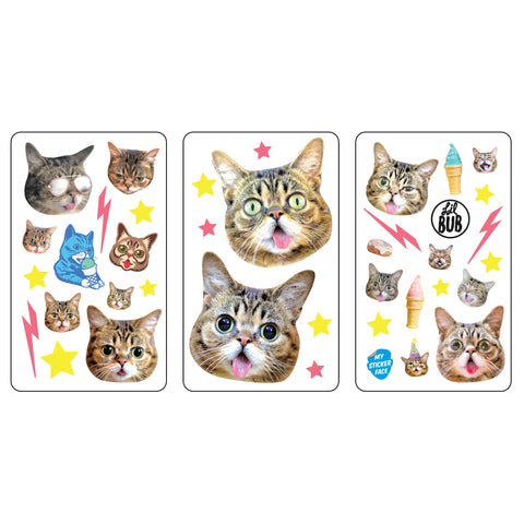 Lil BUB's Magical Vinyl Sticker Pack