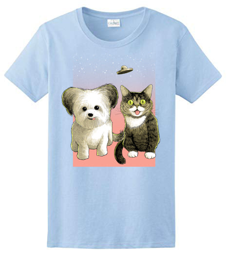 Unisex T-Shirt - BUB and Norbert - Blue