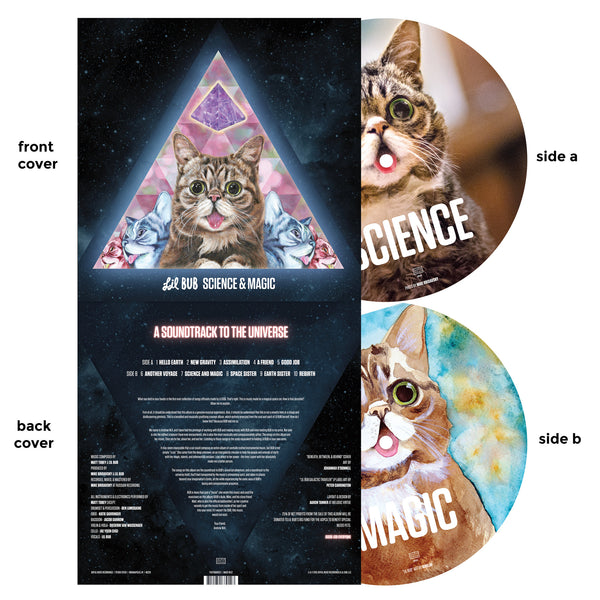 Lil BUB Science & Magic Picture Disc Album LP Vinyl