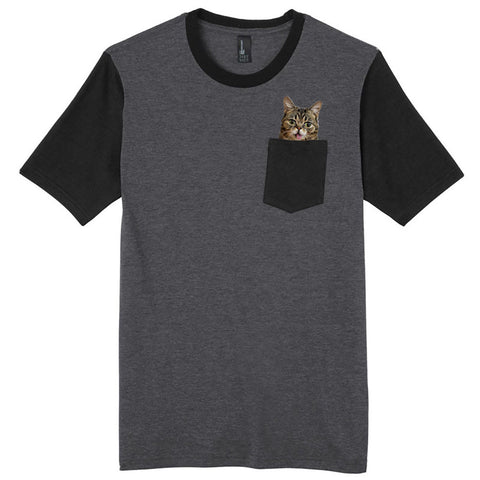 Pocket BUB T-Shirts! - Charcoal