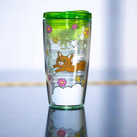 16 Oz Travel Tumbler - Retro BUB