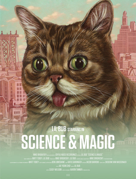 Lil BUB Science and Magic Poster Included vinyl