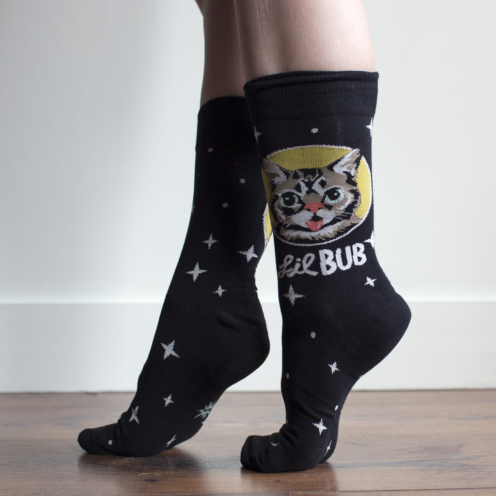 lil bub big show socks