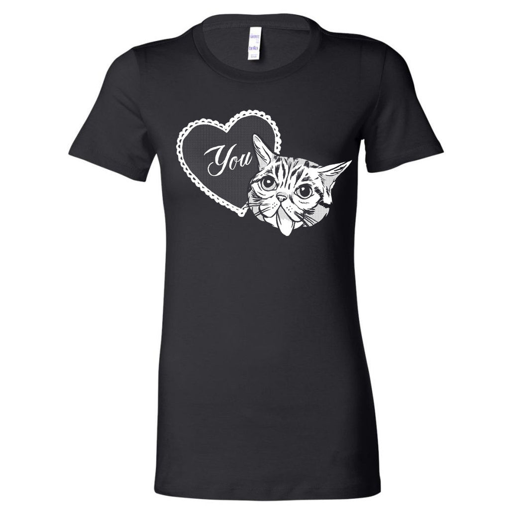 LUB YOU Women's T-Shirt - Black