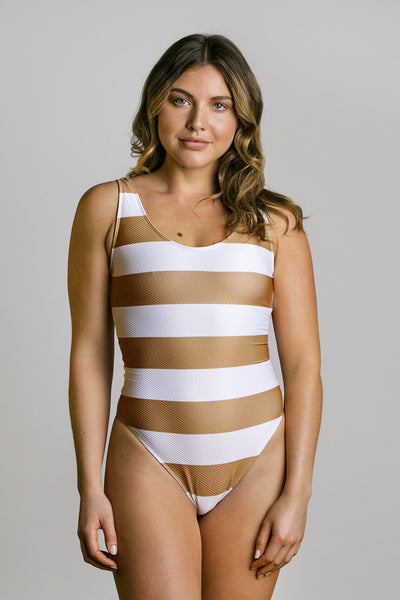 Vanilla Ice|Model is 5'6 (34A - 26) and wearing small - Christina one piece